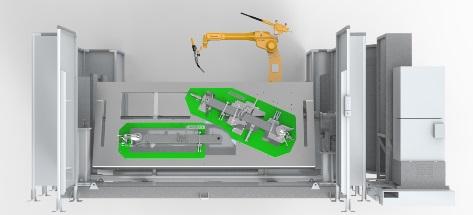 Tool maker robot 3D design