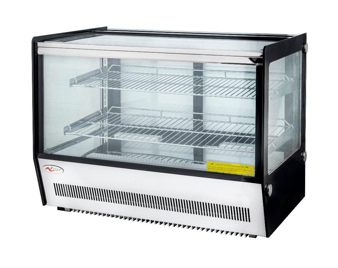 Pultra helyezhető bemutató hűtővitrin