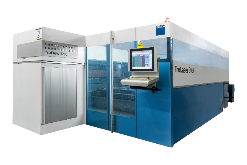 Trumph trulaser laser cutting machine
